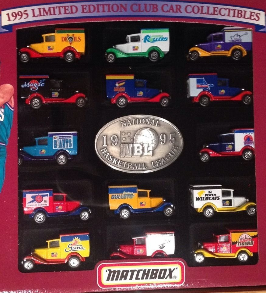 Limited Edition Cars: Matchbox 1995 Limited Edition Club Car Collectables NBL