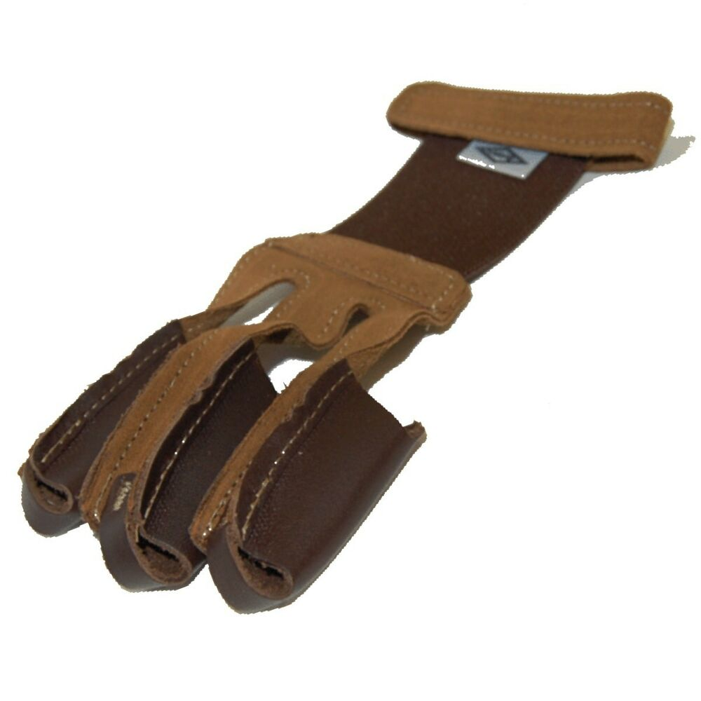Mens Leather Gloves Target - Arms target shooting gear