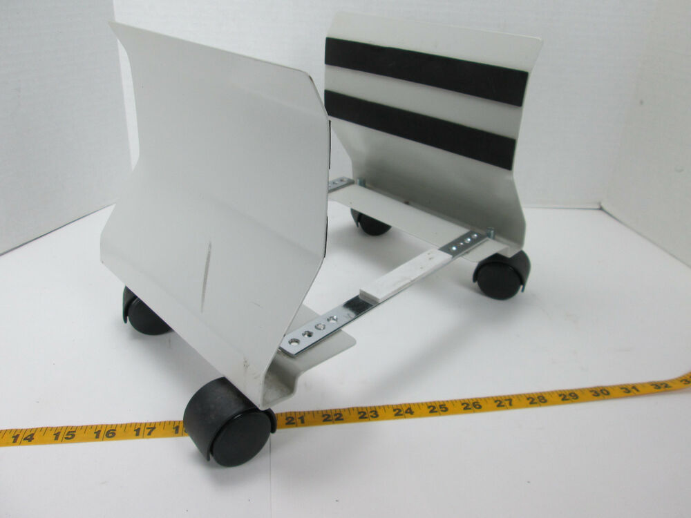 cpu computer tower tray holder cart with wheels adjustable portable sku a s ebay. Black Bedroom Furniture Sets. Home Design Ideas