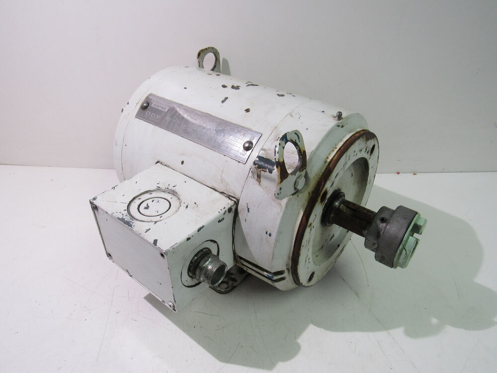 Lincoln 213tc frame electric motor 7 5hp 3ph 230 460v 20 4 for 5hp 3ph electric motor