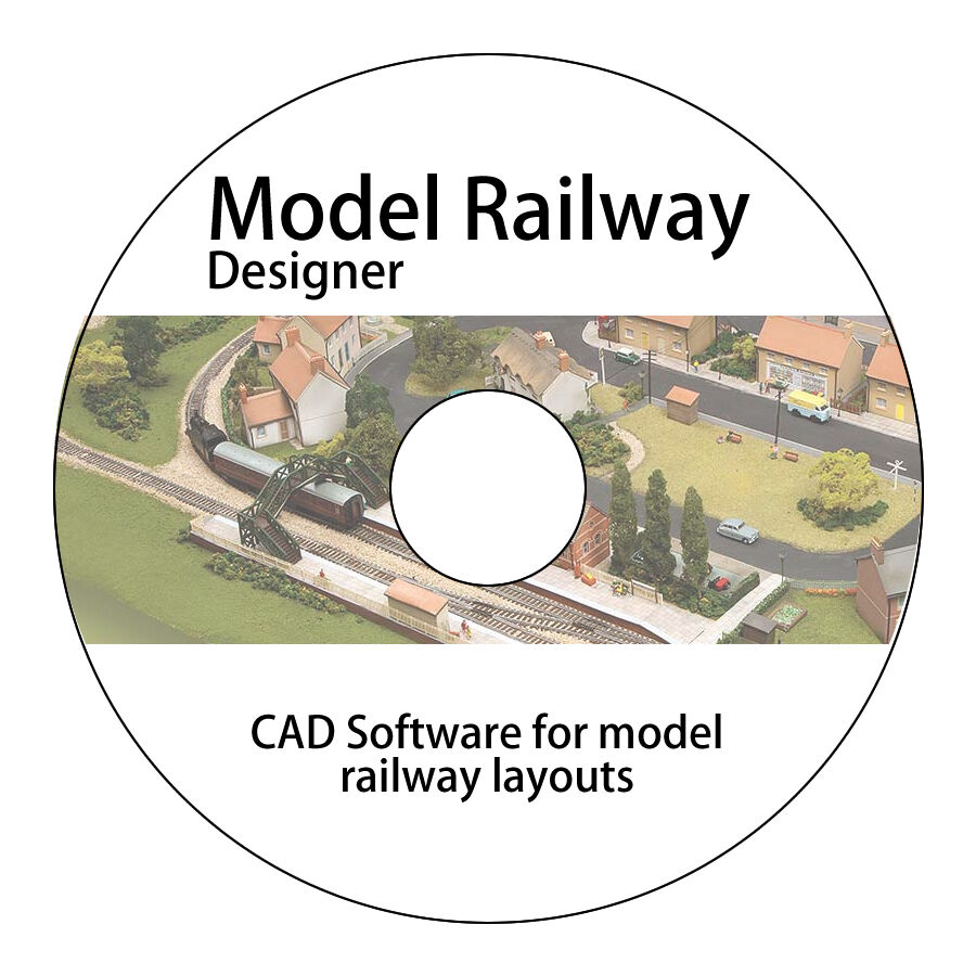 Design build model railway layouts track plans cad for Free scale drawing software
