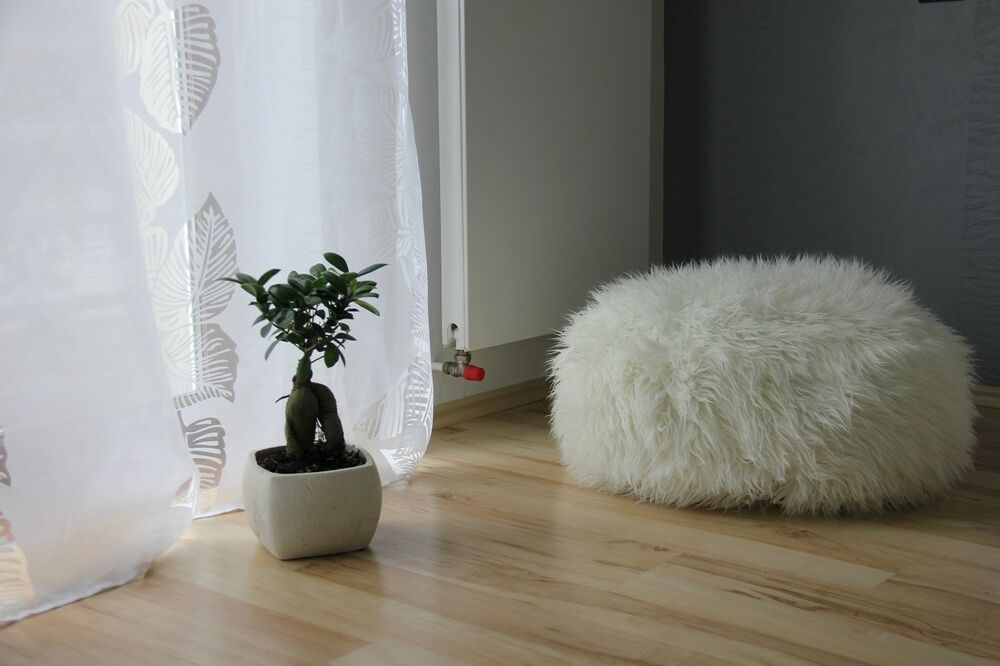 Luxury Lush Amp Soft Shaggy Alpaca Faux Fur Bean Bag Cloud