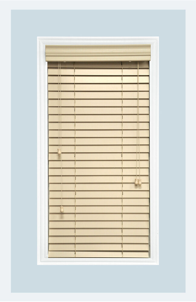 Http Www Ebay Com Itm Custom Cut To Size 2 Real Wood Horizontal Window Blind White Inside Mount 122031679070