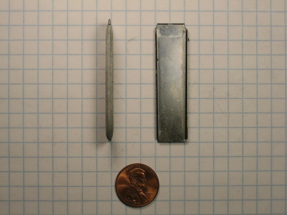 Clamp nails v quot plain steel joint nail width