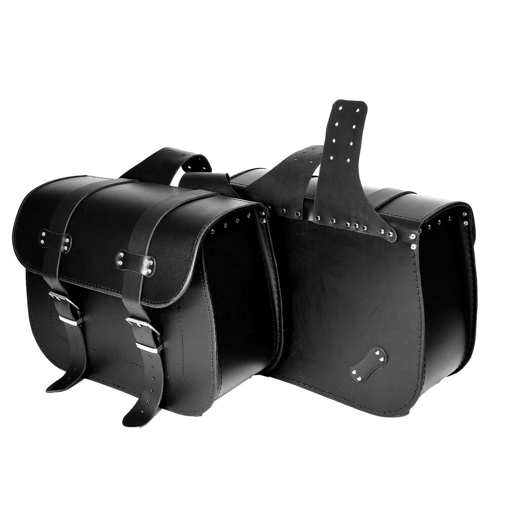 Motorcycle leather saddlebags panniers harley davidson for Motor cycle saddle bags