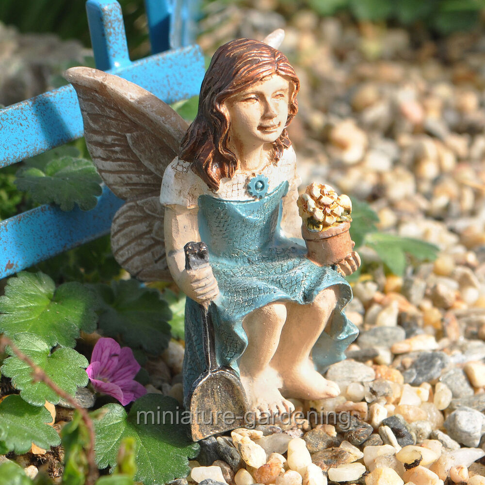 Miniature garden fairy catherine ebay Small garden fairies