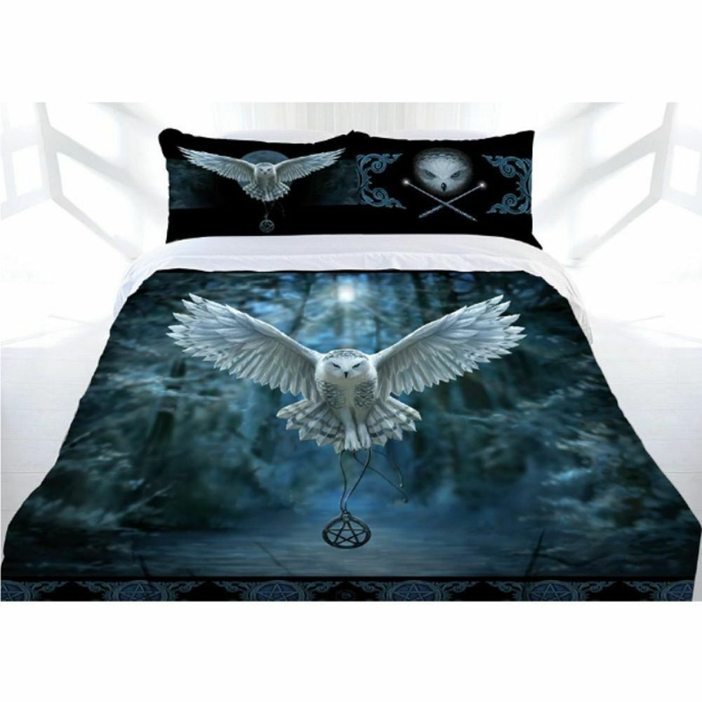 Anne Stokes Awaken Your Magic Owl Quilt Doona Cover Set