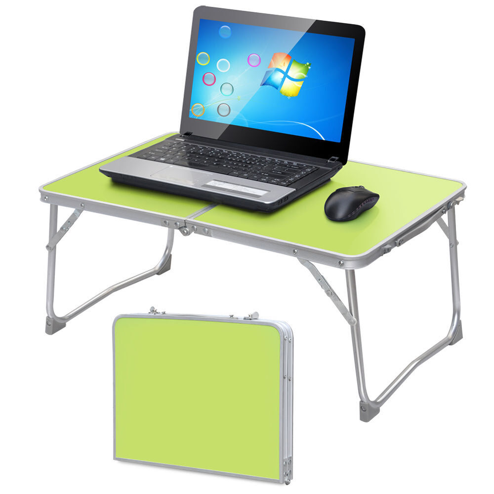 Portable Laptop Desk Folding Laptop Table Tray Stand ...