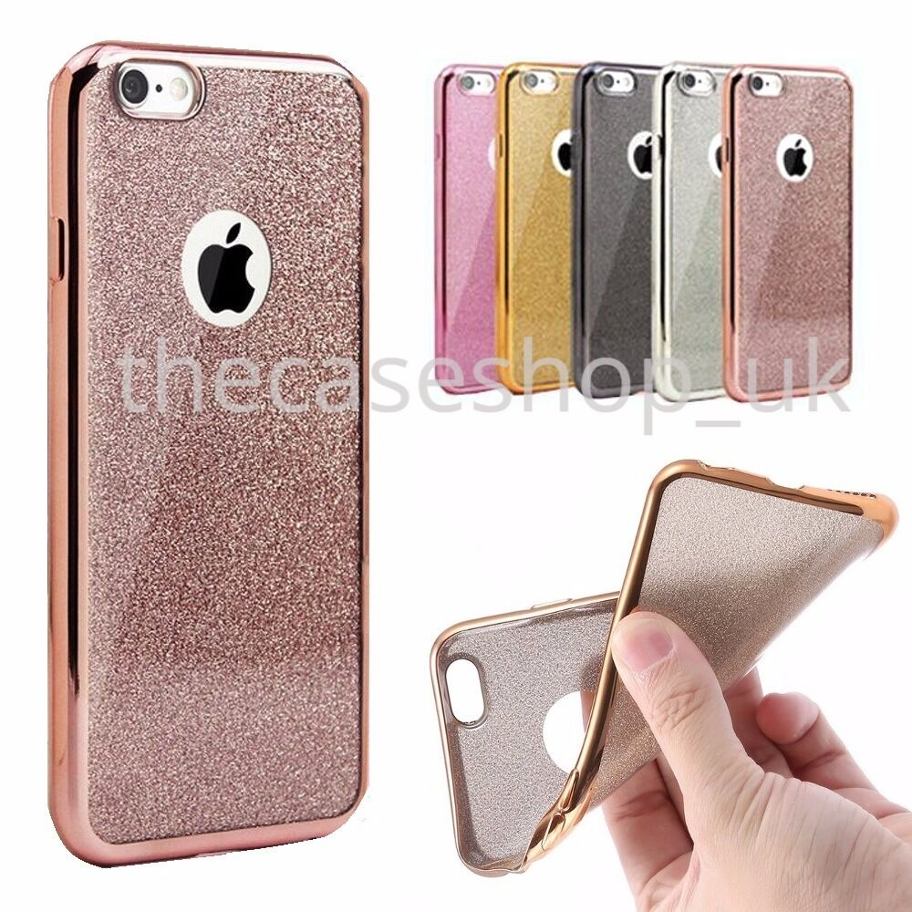 new bling silicone glitter shockproof case cover for apple. Black Bedroom Furniture Sets. Home Design Ideas