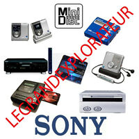 Ultimate  Sony  Minidisc  Repair  Service  Manuals  ( 275 PDFs manual s on DVD)