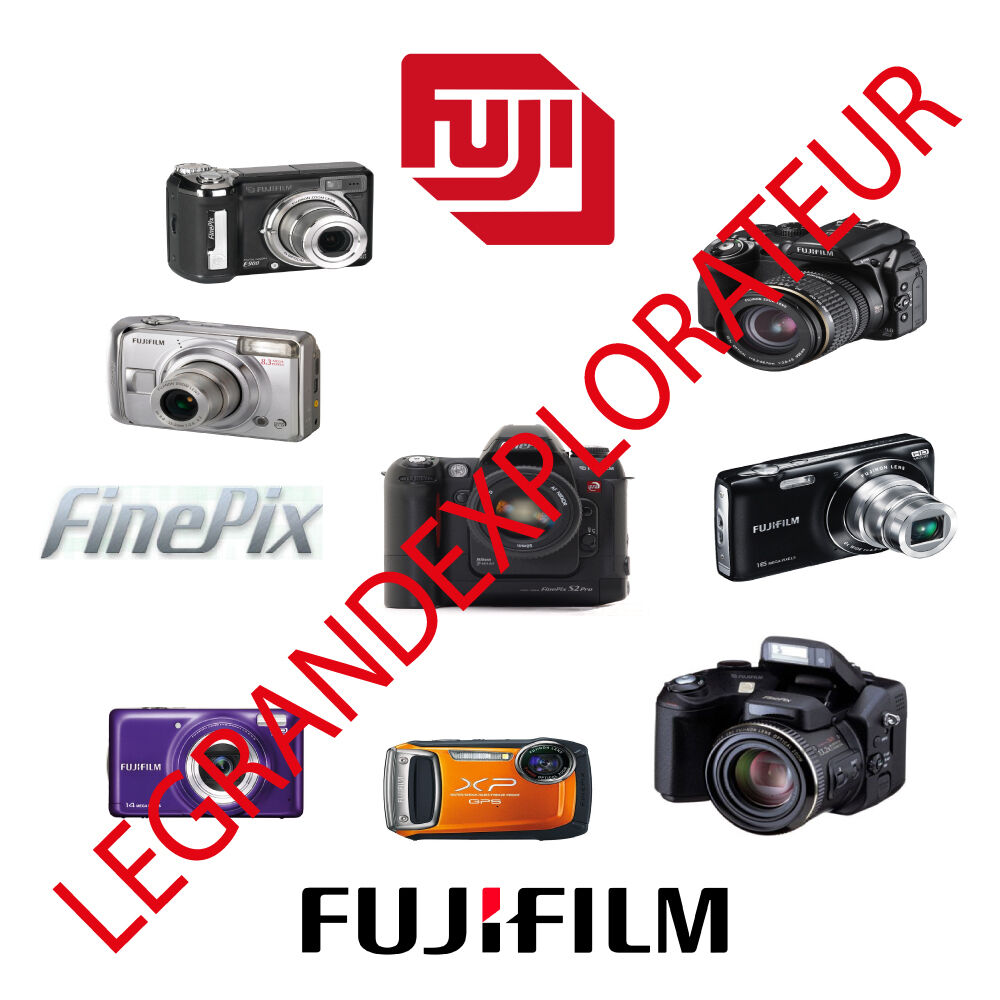 Ultimate Fujifilm Finepix Camera Parts Repair Service manual Collection on  DVD | eBay