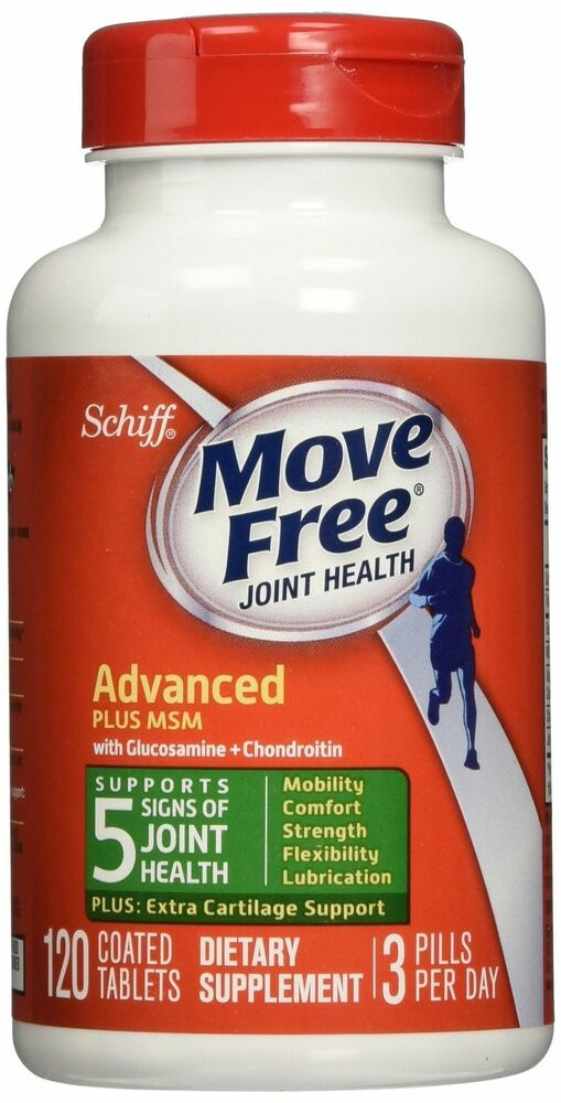 NEW Schiff Move Free Glucosamine Chondroitin Plus 1500 Mg