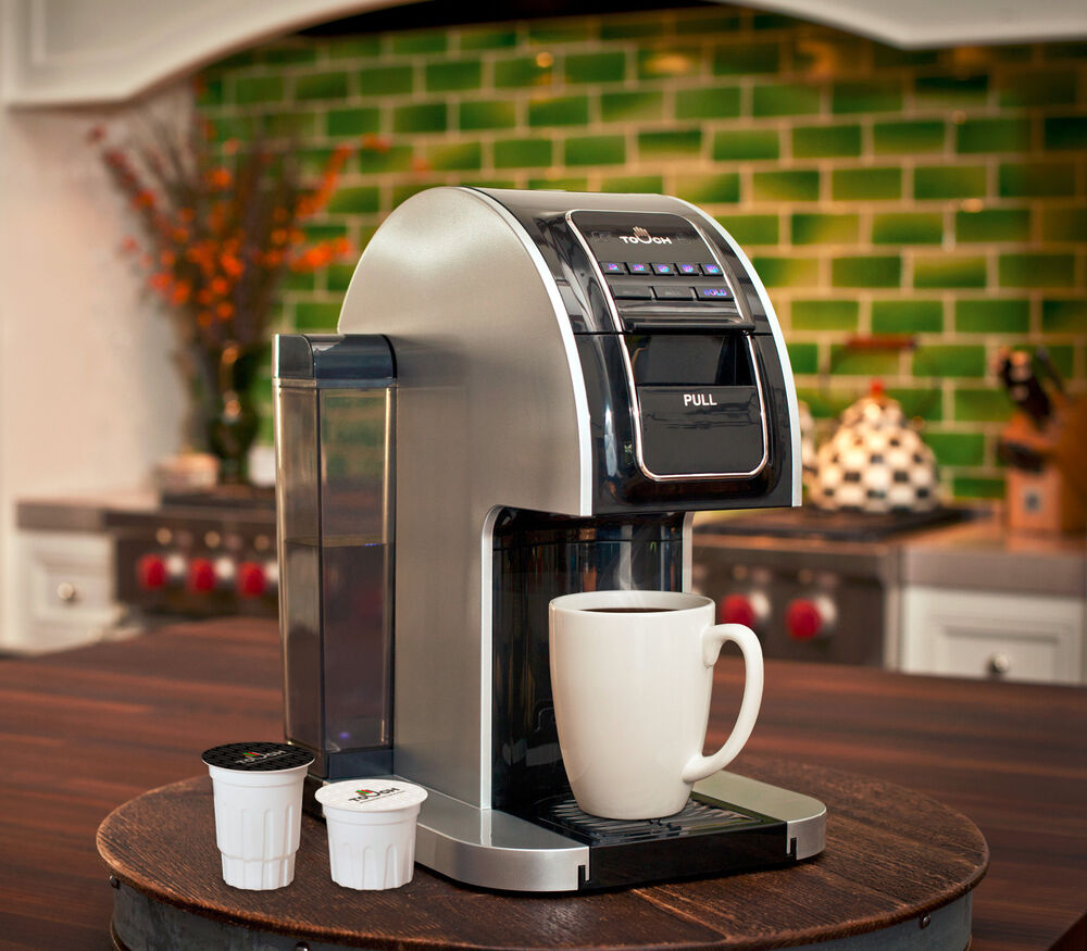 Coffee Makers Compatible With Keurig : Touch Single Serve Coffee/Tea Brewer w/ 12 K-Cups T414S Keurig Compatible eBay