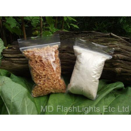img-MAYA DUST & KAPOK FIRE STARTING KIT FOR BUSHCRAFT SURVIVAL SCOUTS A MUST HAVE