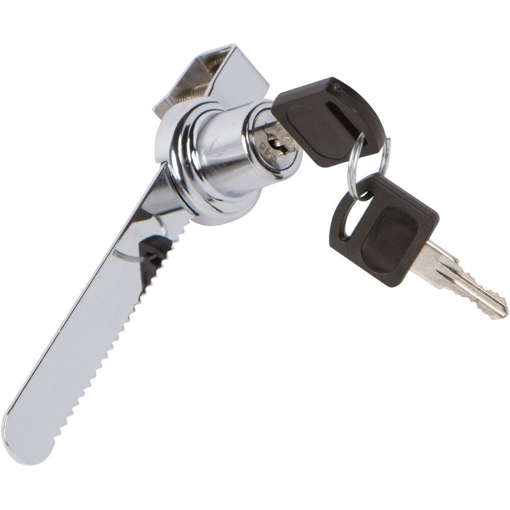 Slide Lock For Glass Door: Sliding Glass Door Ratchet Lock Keyed Alike Display Retail