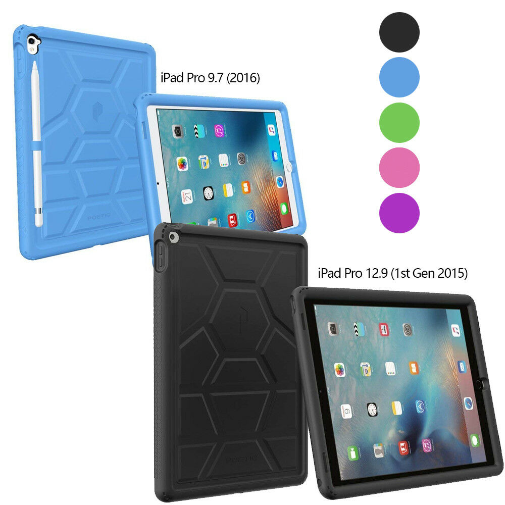 bottom air vents turtle skin case for apple ipad pro 9 7 ipad pro 12 9 ebay. Black Bedroom Furniture Sets. Home Design Ideas