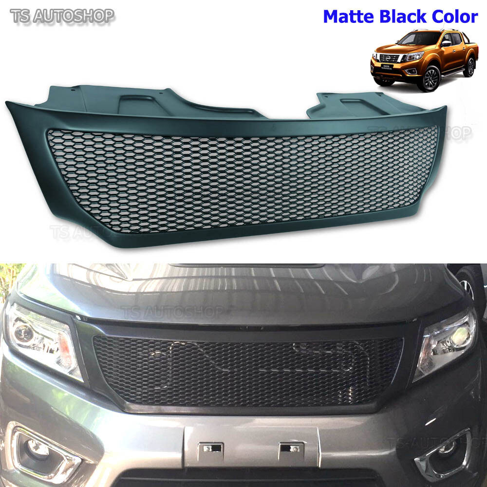 Front Grill Black Net Grille Fit Nissan Frontier Navara