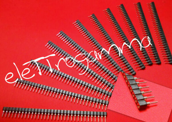 10 x stripline STRIP LINE connettore a pettine femmina 32 pin passo 2.54