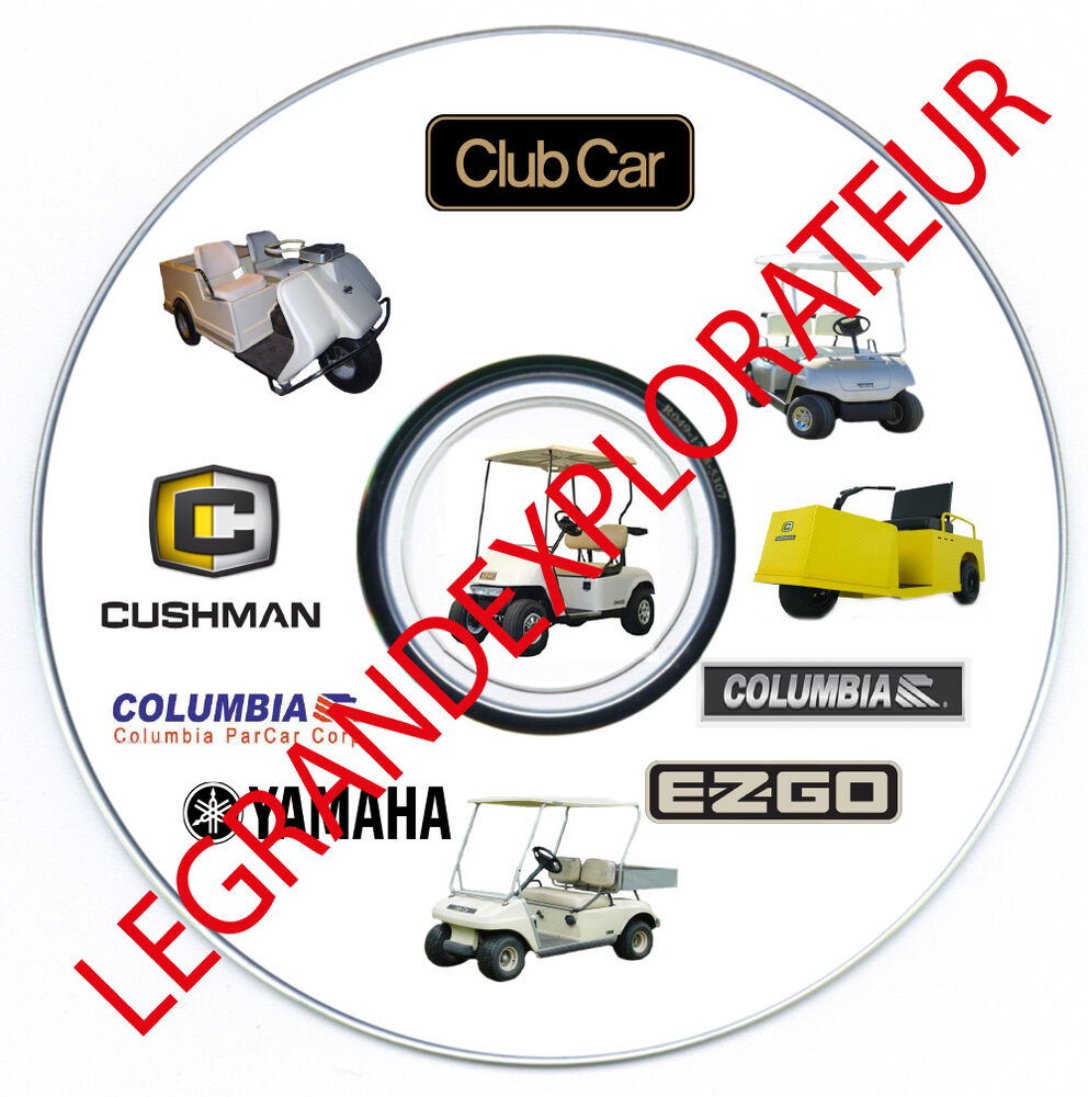 Ultimate Golf Car Cart Repair Service Workshop Manuals 595 Pdfs 86 Club Wiring Diagram Manual S Dvd Ebay
