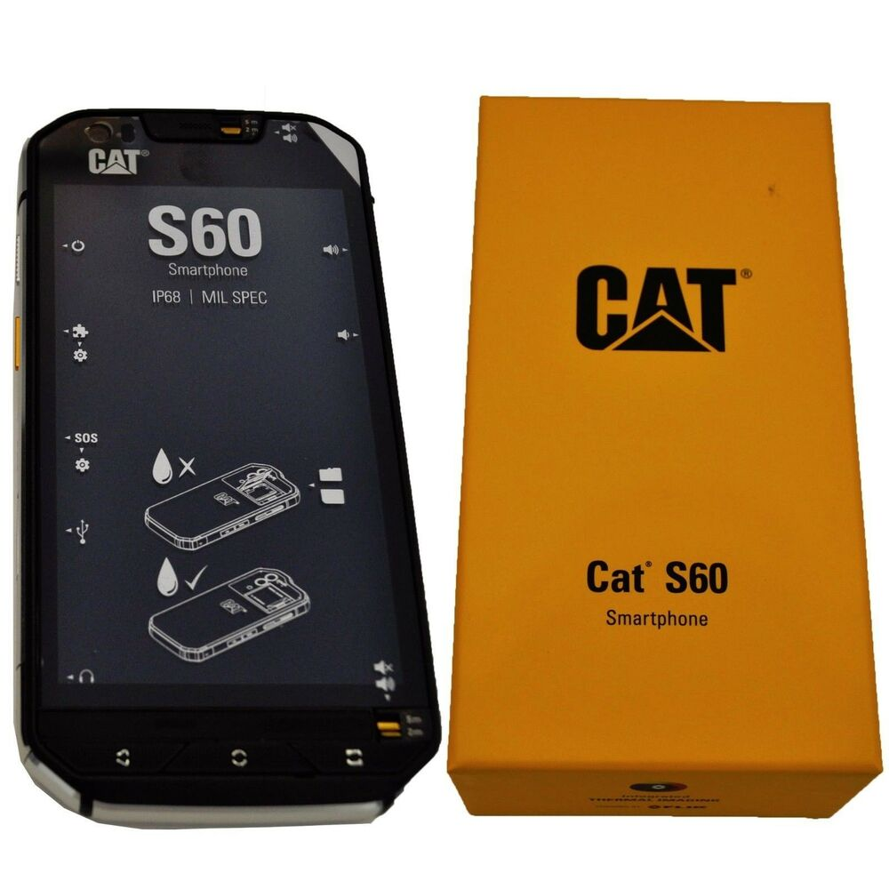 Bnib Caterpillar Cat S60 Black 32gb Dual Sim Factory