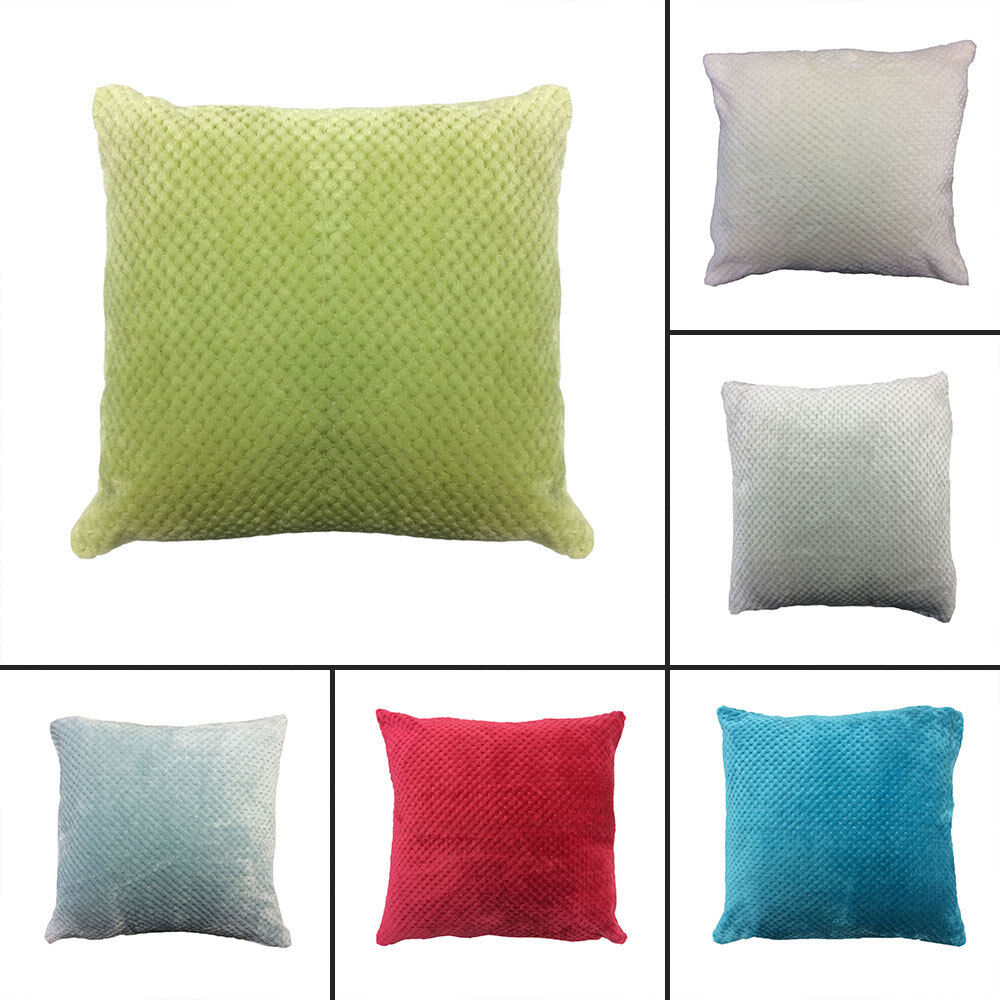 plain large waffle cushion cover pillow case sofa home. Black Bedroom Furniture Sets. Home Design Ideas