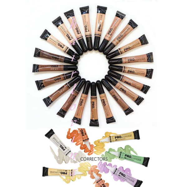 3 L.A. LA Girl Pro Conceal HD. High Definition Concealer & Corrector -Pick Any 3