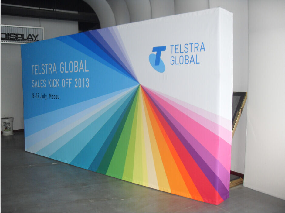 Fabric Exhibition Stand Quotes : Ft straight booth tension fabric display wall trade