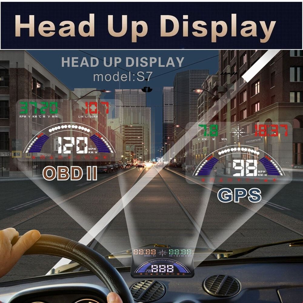 The development of the head up display