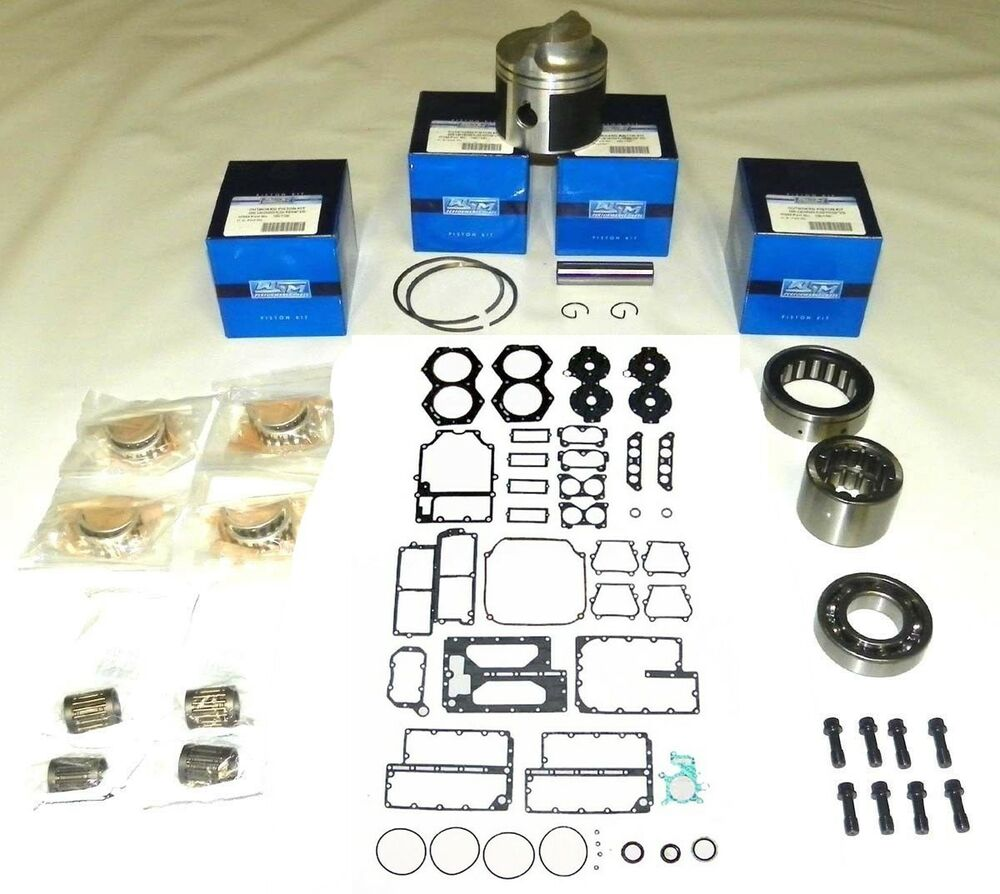 Wsm outboard johnson evinrude 65 140 hp v4 crossflow for Yamaha powerhead rebuild kit