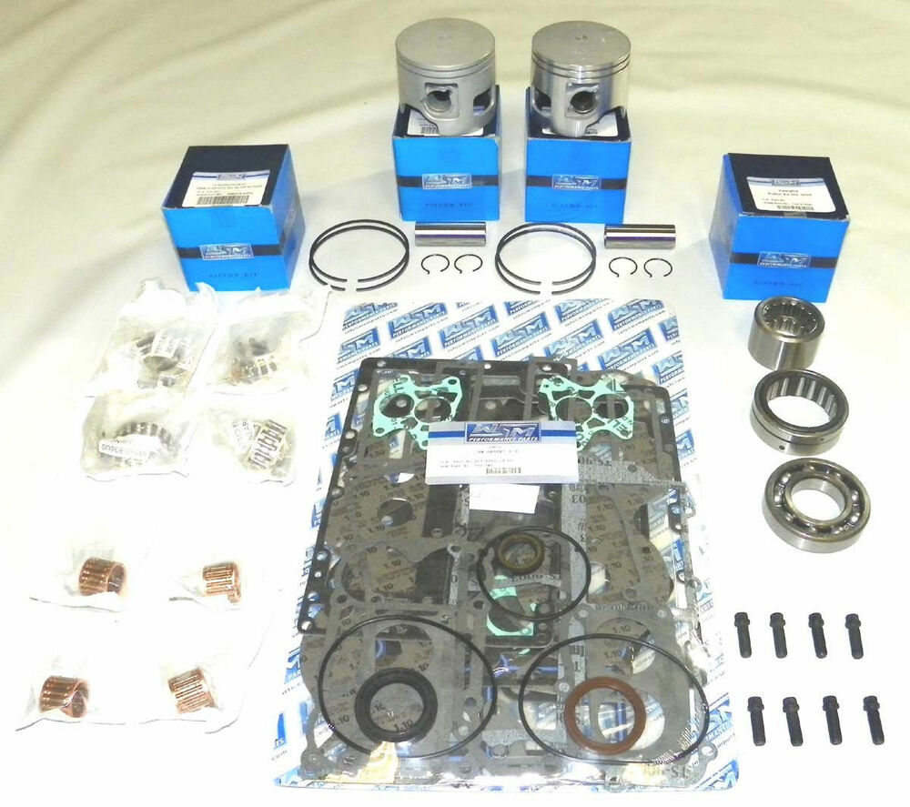 Wsm outboard yamaha 115 130 hp power head rebuild kit v4 for Yamaha powerhead rebuild kit