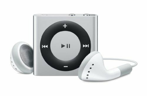 apple ipod mini shuffle 2gb mp3 player music 4th generation md778ll a silver 885909612765 ebay. Black Bedroom Furniture Sets. Home Design Ideas