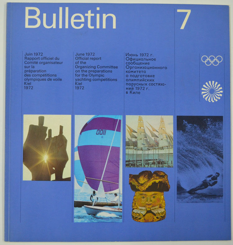 olympische spiele 1972 m nchen bulletin 7 otl aicher. Black Bedroom Furniture Sets. Home Design Ideas