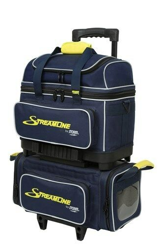 Storm Streamline Navy Grey Yellow 4 Ball Roller Bowling
