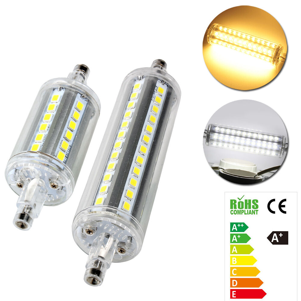 5w 10w r7s led 2835 smd leuchtmittel stab fluter halogenstab lampe 78mm 118mm ebay. Black Bedroom Furniture Sets. Home Design Ideas