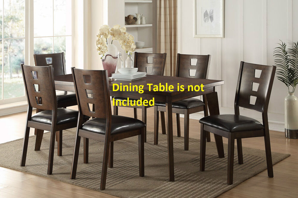 faux leather new unique dining room modern dining chairs