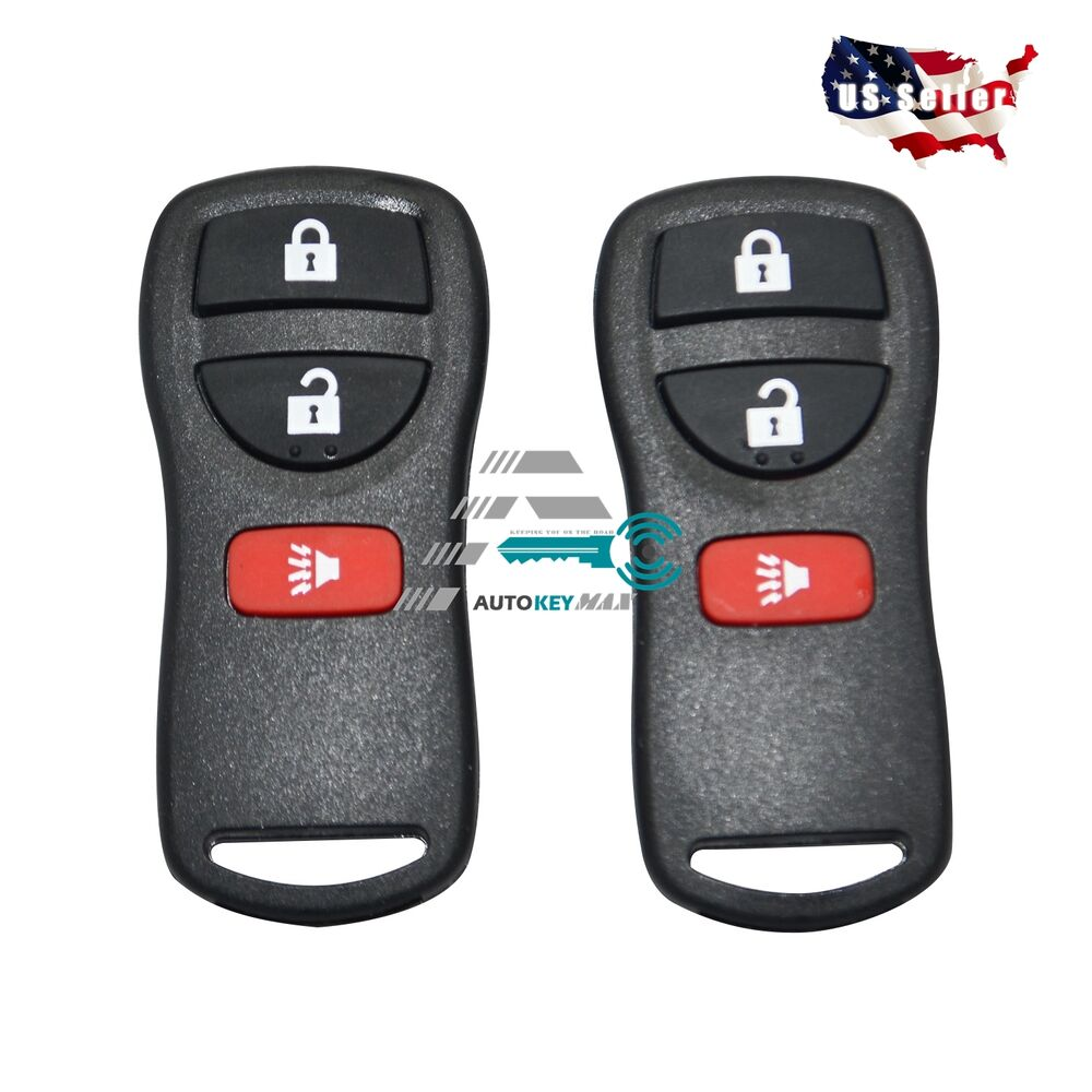 2 Keyless Entry Remote Key Fob Control Replacement For