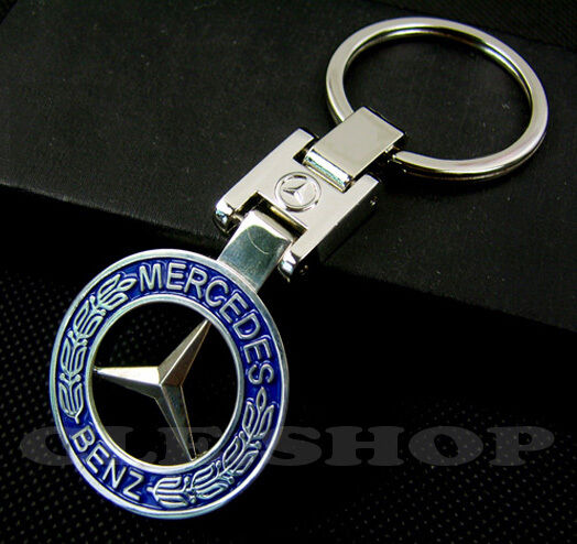 mercedes benz key chain key ring keychain keyring chrome. Black Bedroom Furniture Sets. Home Design Ideas