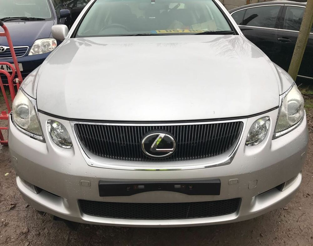 2007 lexus gs 450h hybrid breaking for spares parts silver gs 300 430 ebay. Black Bedroom Furniture Sets. Home Design Ideas