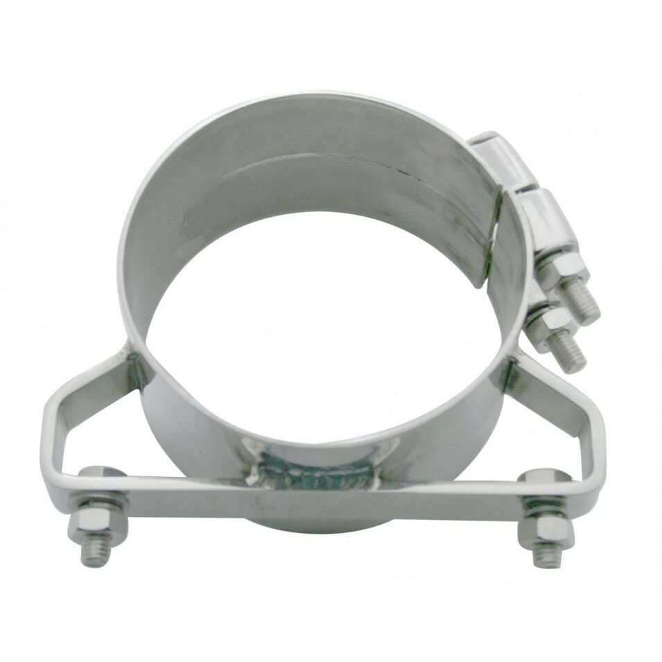 Freightliner quot stainless steel wide band exhaust clamp ebay