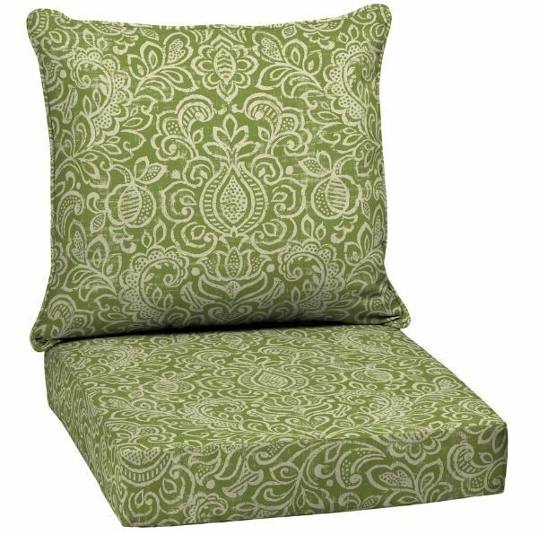 Cushion Deep Chair Seat Outdoor Furniture Wicker Patio