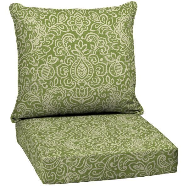 cushion deep chair seat outdoor furniture wicker patio seating replacement solid ebay. Black Bedroom Furniture Sets. Home Design Ideas