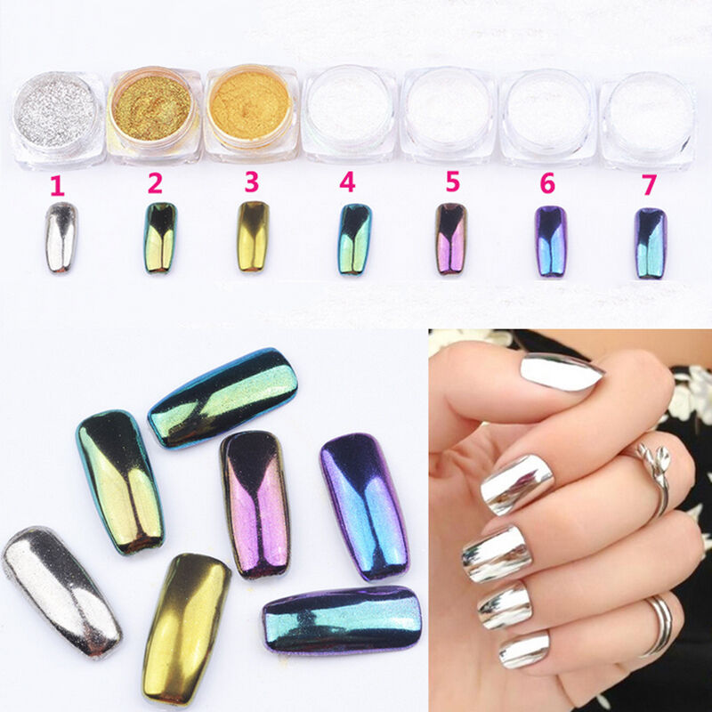 2g Mirror Chrome Effect For Nails Shining Magic Nails