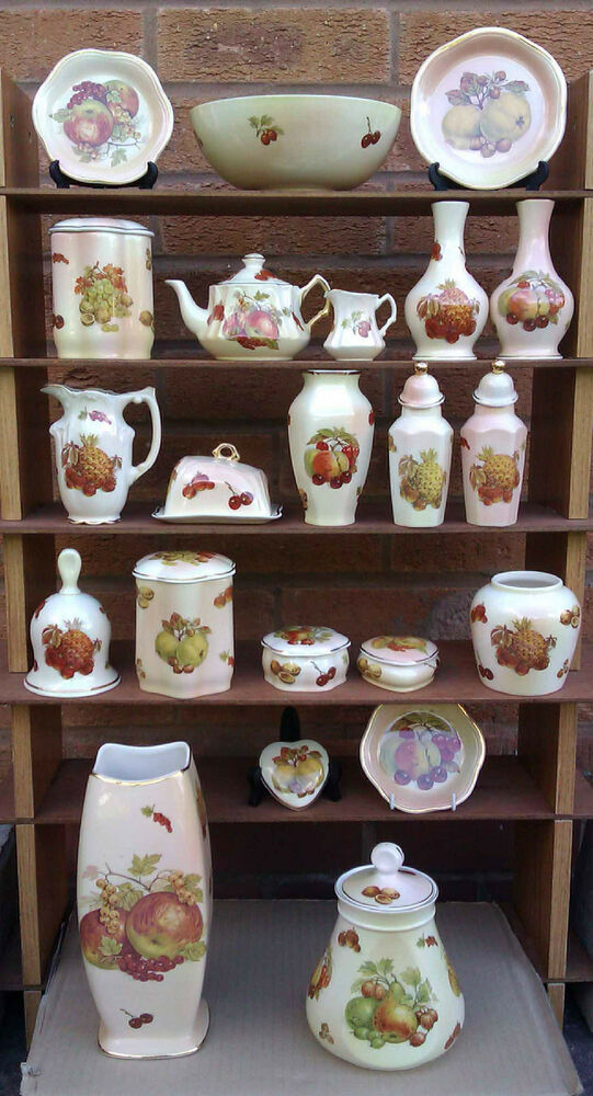 Royal Worcester Palissy Royale Collection Fruit Selection Of