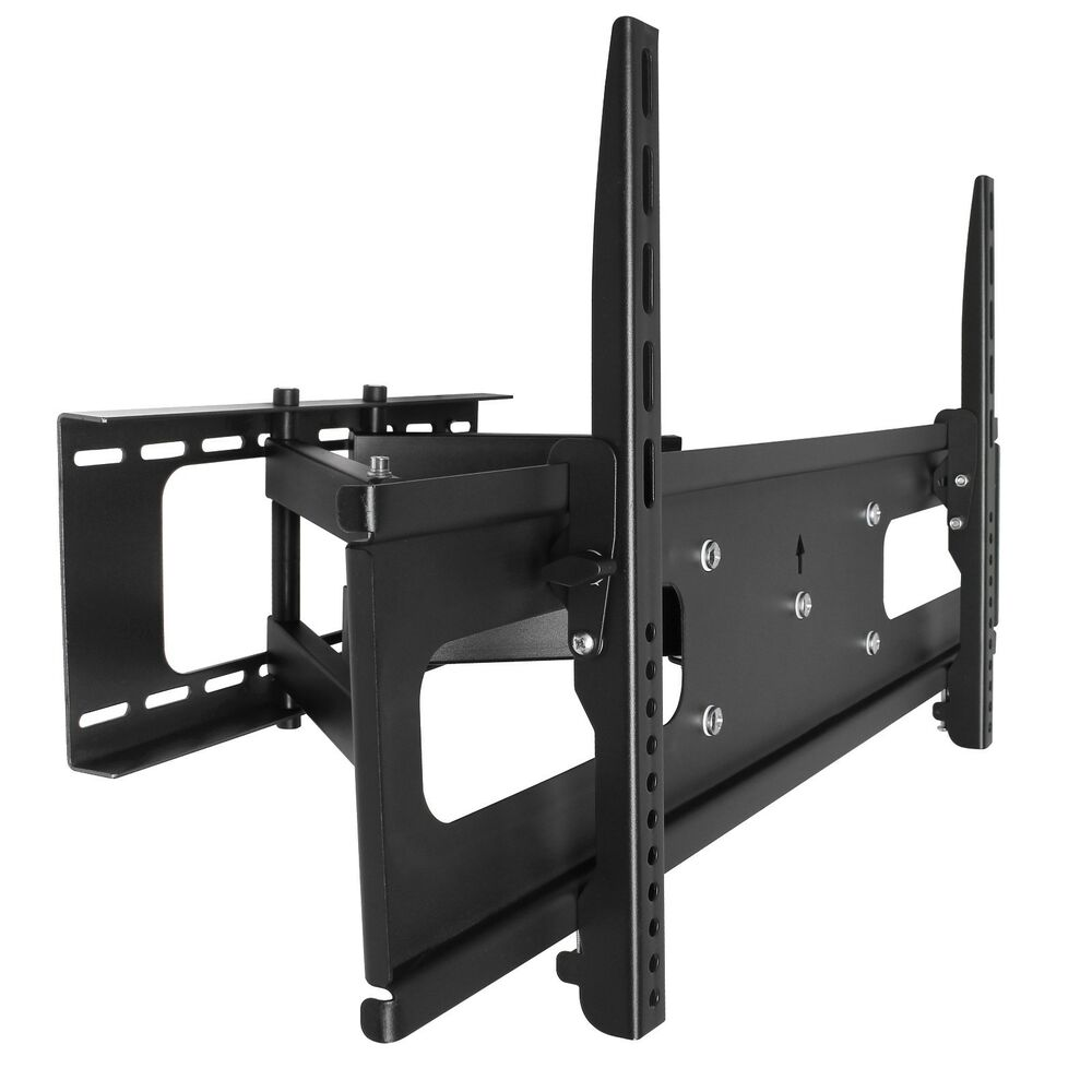 full motion lcd led articulating tv wall mount 50 55 60 65 70 75 78 80 85 88 90 636391133777 ebay. Black Bedroom Furniture Sets. Home Design Ideas