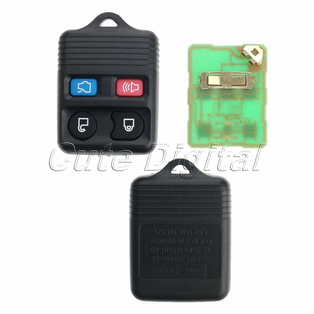 Replacement 4 Button Keyless Entry Remote Key Fob For Ford Escape 2000 Mercury Sable Dohc Engine Internal Diagram Cougar 746060734768 Ebay