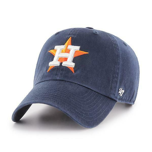 fa1d044a830 Details about Houston Astros 47 Brand Clean Up Adjustable Field Classic Navy  Blue Hat Cap MLB