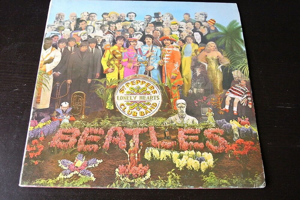 Lp The Beatles Sgt Peppers Lonely Hearts Spanish 1976