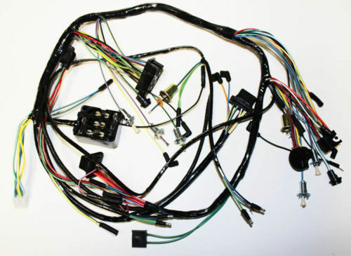 New  1966 Ford Mustang Under Dash Complete Wire Harness