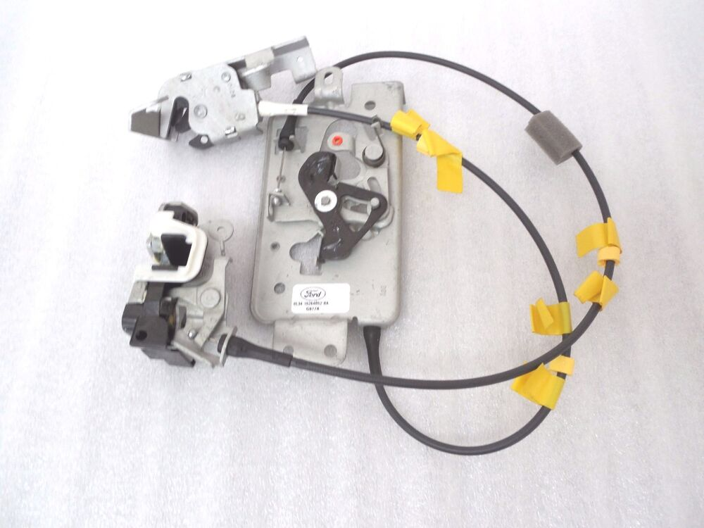 Ford F150 Super Cab Rear Door Latch Set Cable Upper Lower