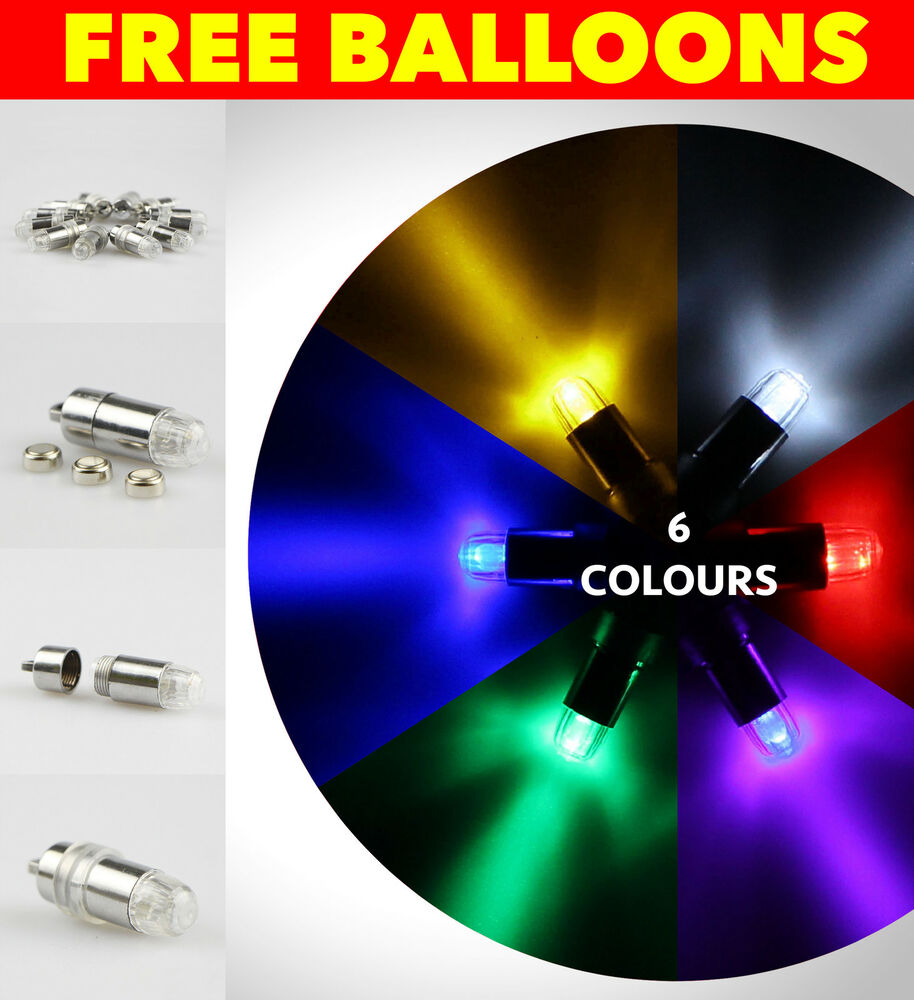 LED Balloon Lights Glowing LED Party Balloons Wedding ...